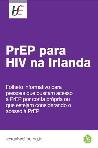 HIV PrEP in Ireland Portuguese
